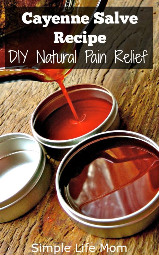 DIY Home Remedies - DIY Natural Pain Relief - Homemade Recipes and Ideas for Help Relieve Symptoms of Cold and Flu, Upset Stomach, Rash, Cough, Sore Throat, Headache and Illness - Skincare Products, Balms, Lotions and Teas