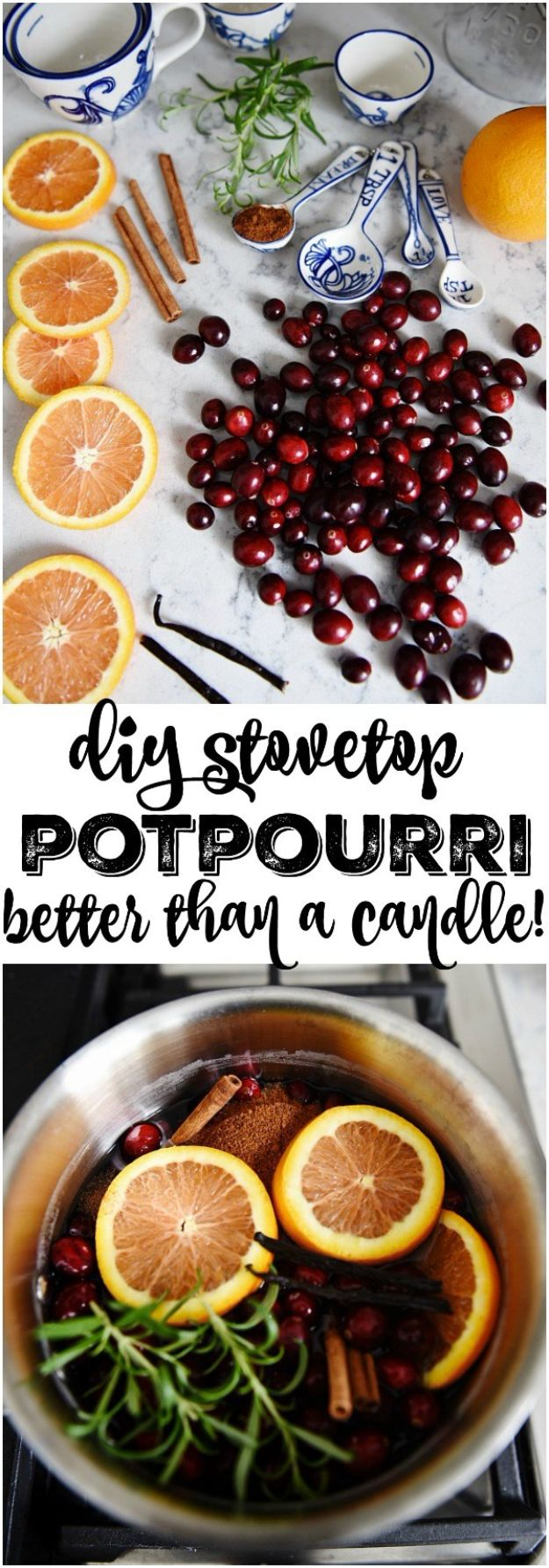 DIY Home Fragrance Ideas - DIY Stovetop Potpourri - Easy Ways To Make your House and Home Smell Good - Essential Oils, Diffusers, DIY Lampe Berger Oil, Candles, Room Scents and Homemade Recipes for Odor Removal - Relaxing Lavender, Fresh Clean Smells, Lemon, Herb http://diyjoy.com/diy-home-fragrance-ideas