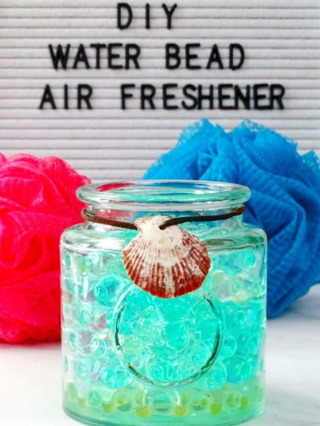 DIY Home Fragrance Ideas - DIY Water Bead Air Freshener - Easy Ways To Make your House and Home Smell Good - Essential Oils, Diffusers, DIY Lampe Berger Oil, Candles, Room Scents and Homemade Recipes for Odor Removal - Relaxing Lavender, Fresh Clean Smells, Lemon, Herb http://diyjoy.com/diy-home-fragrance-ideas