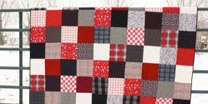 She Shows You How To Make A Warm And Cozy Flannel Quilt For Cold Winter Nights. Watch!