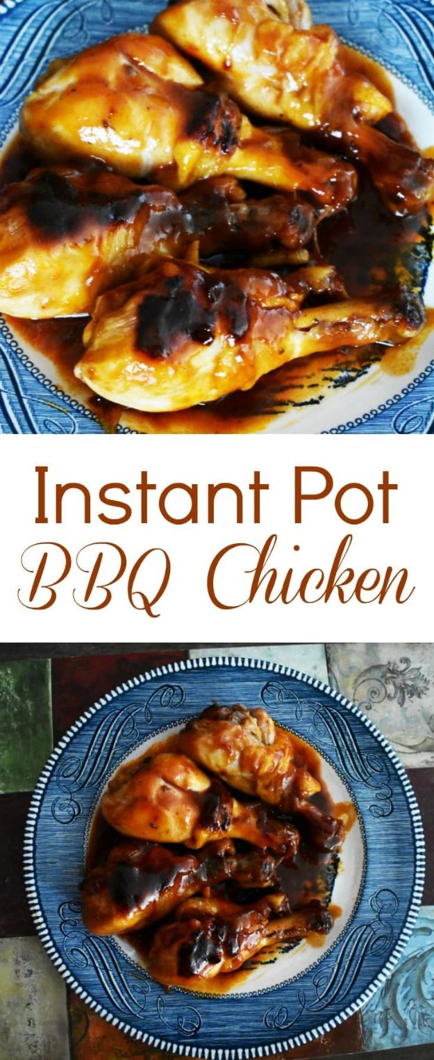 Best Barbecue Recipes - Instant Pot BBQ Chicken - Easy BBQ Recipe Ideas for Lunch, Dinner and Quick Party Appetizers - Grilled and Smoked Foods, Chicken, Beef and Meat, Fish and Vegetable Ideas for Grilling - Sauces and Rubs, Seasonings and Favorite Bar BBQ Tips #bbq #bbqrecipes #grilling