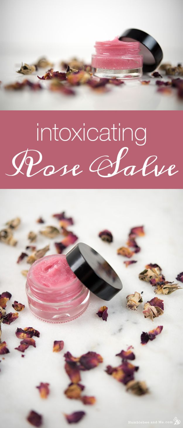 Rose Crafts - Intoxicating Rose Salve - Easy Craft Projects With Roses - Paper Flowers, Quilt Patterns, DIY Rose Art for Kids - Dried and Real Roses for Wall Art and Do It Yourself Home Decor - Mothers Day Gift Ideas - Fake Rose Arrangements That Look Amazing - Cute Centerrpieces and Crafty DIY Gifts With A Rose http://diyjoy.com/rose-crafts