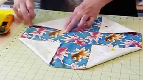Lotus Bag Sewing Project Tutorial | DIY Joy Projects and Crafts Ideas