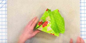 We See These Made Out Of Paper But Making Them With Fabric Is Different Spin. Watch!