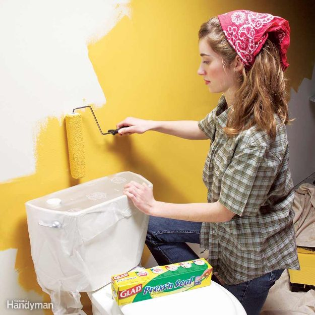DIY Painting Hacks - Paint a Room Without Making a Mess - Easy Ways To Shortcut House Painting - Wall Prep, Painters Tape, Trim, Edging, Ceiling, Exterior Cutting In, Furniture and Crafts Paint Tips - Paint Your House Or Your Room With These Time Saving Painter Hacks and Quick Tricks http://diyjoy.com/diy-painting-hacks