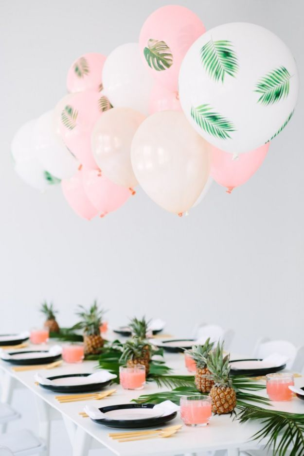Best Dinner Party Ideas - Palm Frond + Bon Bons Dinner Party - Best Recipes for Foods to Serve, Casseroles, Finger Foods, Desserts and Appetizers- Place Settings and Cards, Centerpieces, Table Decor and Recipe Ideas for Supper Clubs and Dinner Parties http://diyjoy.com/best-dinner-party-ideas