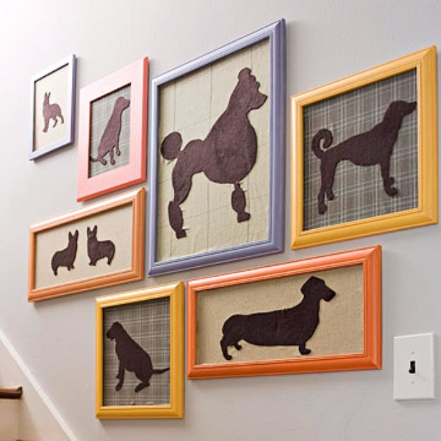 DIY Ideas With Dogs - Pets on Parade - Cute and Easy DIY Projects for Dog Lovers - Wall and Home Decor Projects, Things To Make and Sell on Etsy - Quick Gifts to Make for Friends Who Have Puppies and Doggies - Homemade No Sew Projects- Fun Jewelry, Cool Clothes and Accessories #dogs #crafts #diyideas