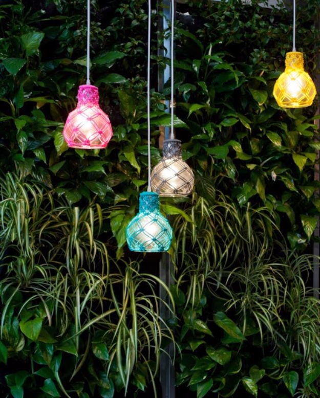 Macrame Crafts - Playful Macrame Lanterns - DIY Ideas and Easy Macrame Projects for Home Decor, Gifts and Wall Art - Cool Bracelets, Plant Holders, Beautiful Dream Catchers, Things To Make and Sell on Etsy, How To Make Knots for Your Macrame Craft Projects, Fun Ideas Even Kids and Teens Can Make #macrame #crafts #diyideas
