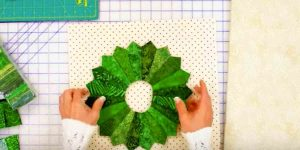 She Makes A Wreath Unlike Any Wreath You'll See Hanging On A Door! Learn How.