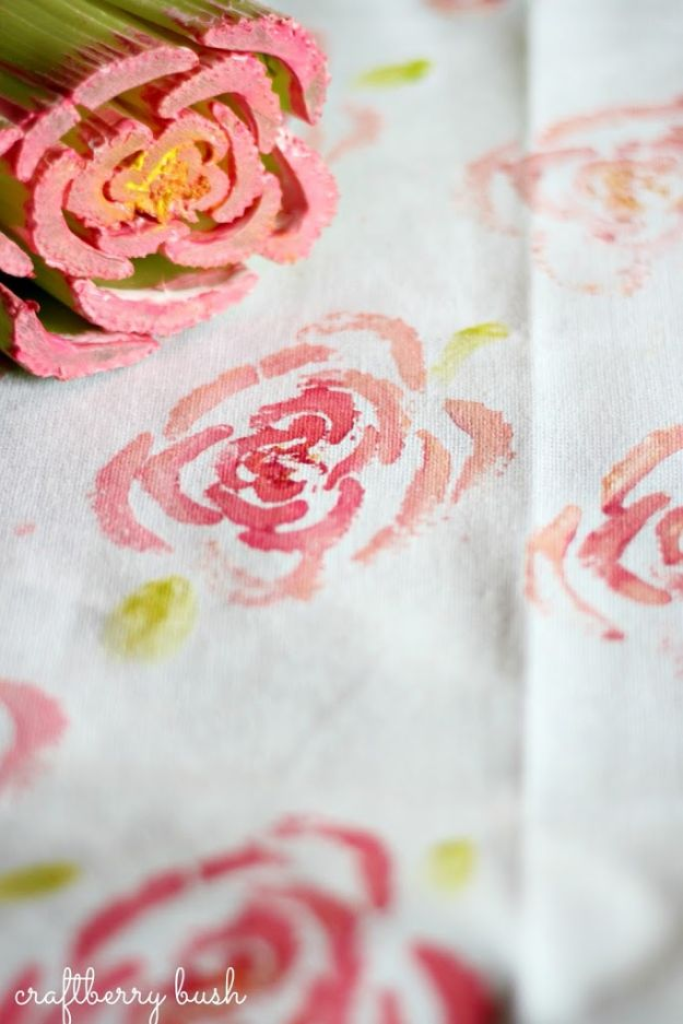 Rose Crafts - Rose Stamp - Easy Craft Projects With Roses - Paper Flowers, Quilt Patterns, DIY Rose Art for Kids - Dried and Real Roses for Wall Art and Do It Yourself Home Decor - Mothers Day Gift Ideas - Fake Rose Arrangements That Look Amazing - Cute Centerrpieces and Crafty DIY Gifts With A Rose http://diyjoy.com/rose-crafts
