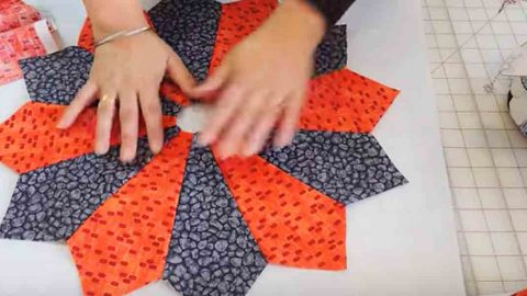 She Creates A Rather Unique Way To Store Her Fabric Scraps. Watch! | DIY Joy Projects and Crafts Ideas