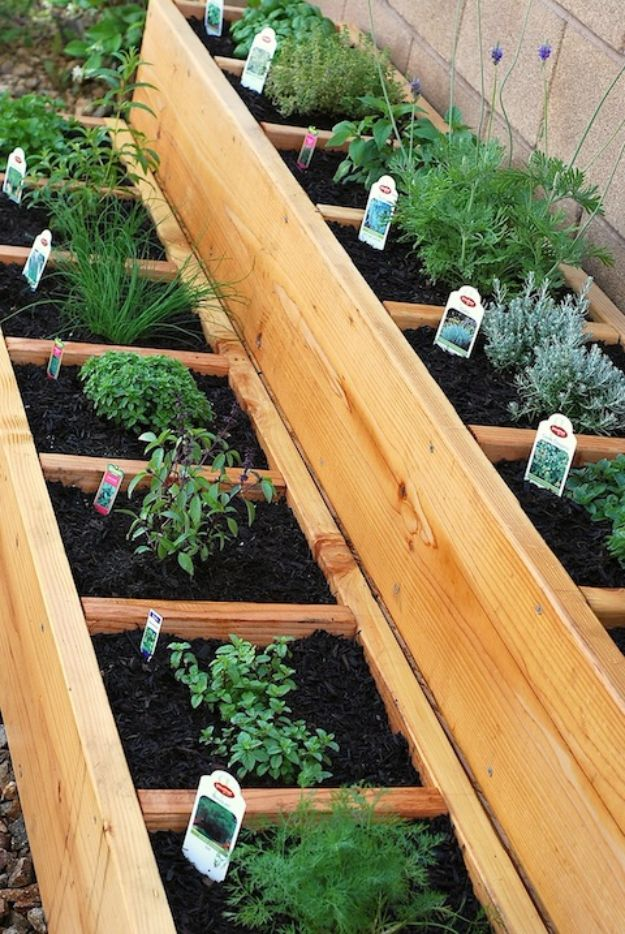 Container Gardening Ideas - Stacked Container Gardening - Easy Garden Projects for Containers and Growing Plants in Small Spaces - DIY Potting Tips and Planter Boxes for Vegetables, Herbs and Flowers - Simple Ideas for Beginners -Shade, Full Sun, Pation and Yard Landscape Idea tutorials http://diyjoy.com/container-gardening-ideas