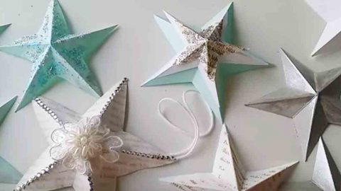 Watch How She Makes These Beautiful Ornaments In Only A Minute. Learn How! | DIY Joy Projects and Crafts Ideas