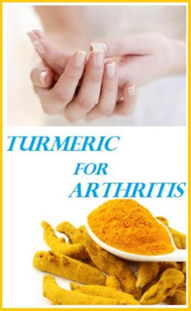 DIY Home Remedies - Turmeric For Arthritis - Homemade Recipes and Ideas for Help Relieve Symptoms of Cold and Flu, Upset Stomach, Rash, Cough, Sore Throat, Headache and Illness - Skincare Products, Balms, Lotions and Teas