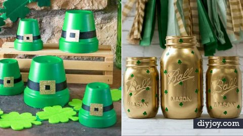 30 Easy St Patrick's Day Decor Ideas   DIY Joy Projects and Crafts Ideas