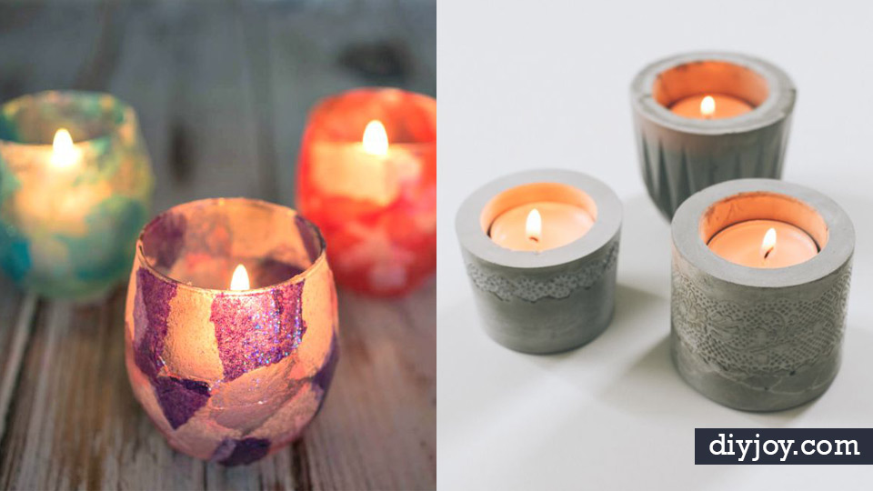 Diy Candle Holders Easy Ideas For Home Decor With Candles Tall