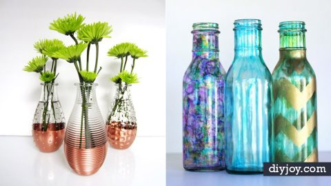 35 DIY Ideas for One Of A Kind Glassware   DIY Joy Projects and Crafts Ideas
