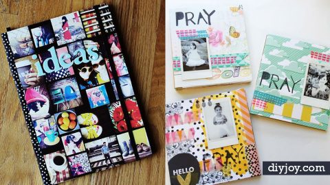 35 DIY Journals For Your Beautiful Life | DIY Joy Projects and Crafts Ideas