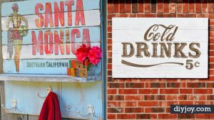 35 Cool DIY Vintage Signs That Will Add Instant Charm to Your Walls