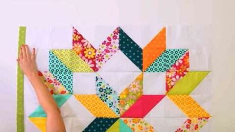 She Tackles Perfectly Pieced Points To Make This Incredibly Beautiful Quilt. Watch! | DIY Joy Projects and Crafts Ideas