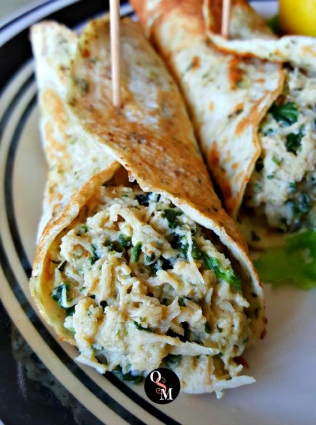Best Lowfat Recipes - Chicken Florentine Wonders - Easy Low fat and Healthy Recipe Ideas For Eating Well and Dieting, Weight Loss - Quick Breakfasts, Lunch, Dinner, Snack and Desserts - Foods with Chicken, Vegetables, Salad, Low Carb, Beef, Egg, Gluten Free http://diyjoy.com/best-lowfat-recipes
