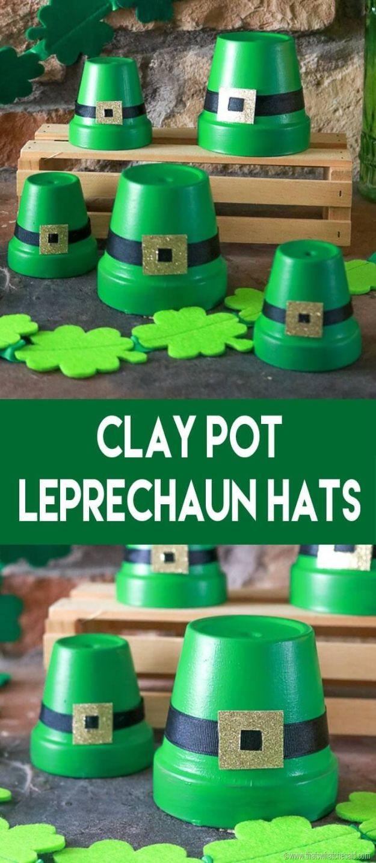 st pattys day home office decor. Clay Pot LeprecSt Patricks Day Decor Ideas - Leprechaun Hats DIY St. St Pattys Home Office O