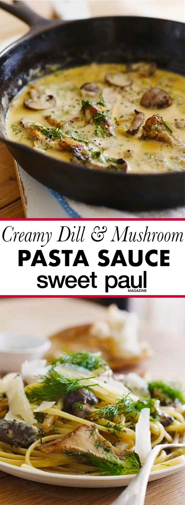 Best Lowfat Recipes - Creamy Mushroom & Dill Pasta - Easy Low fat and Healthy Recipe Ideas For Eating Well and Dieting, Weight Loss - Quick Breakfasts, Lunch, Dinner, Snack and Desserts - Foods with Chicken, Vegetables, Salad, Low Carb, Beef, Egg, Gluten Free http://diyjoy.com/best-lowfat-recipes