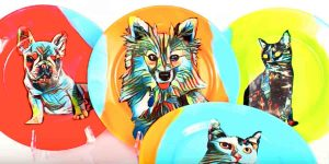 Watch How He Makes These Fabulously Fun Pet Portrait Plates!