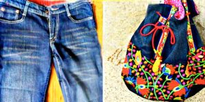 She Transforms Her Old Jeans Into This Remarkable Bag. Learn How!