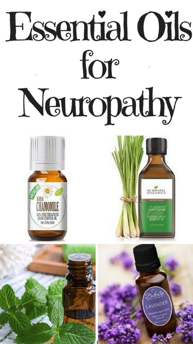 DIY Essential Oil Recipes and Ideas - Essential Oils for Neuropathy - Cool Recipes, Crafts and Home Decor to Make With Essential Oil - Diffuser Projects, Roll On Prodicts for Skin - Recipe Tutorials for Cleaning, Colds, For Sleep, For Hair, For Paint, For Weight Loss #crafts #diy #essentialoils