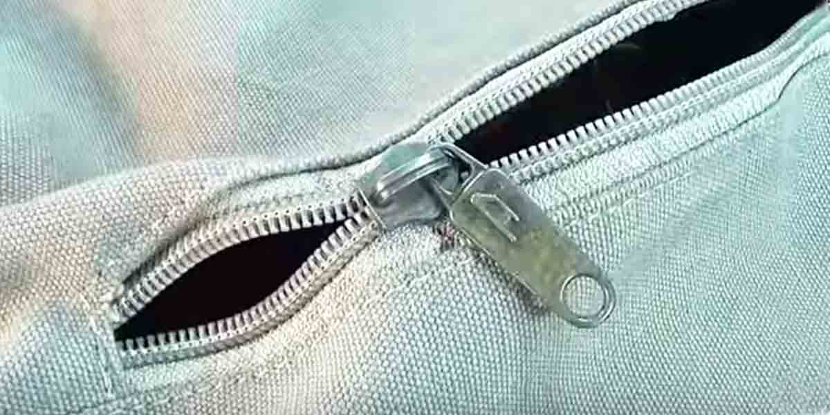 How To Fix A Broken Zipper Without Cutting Anything