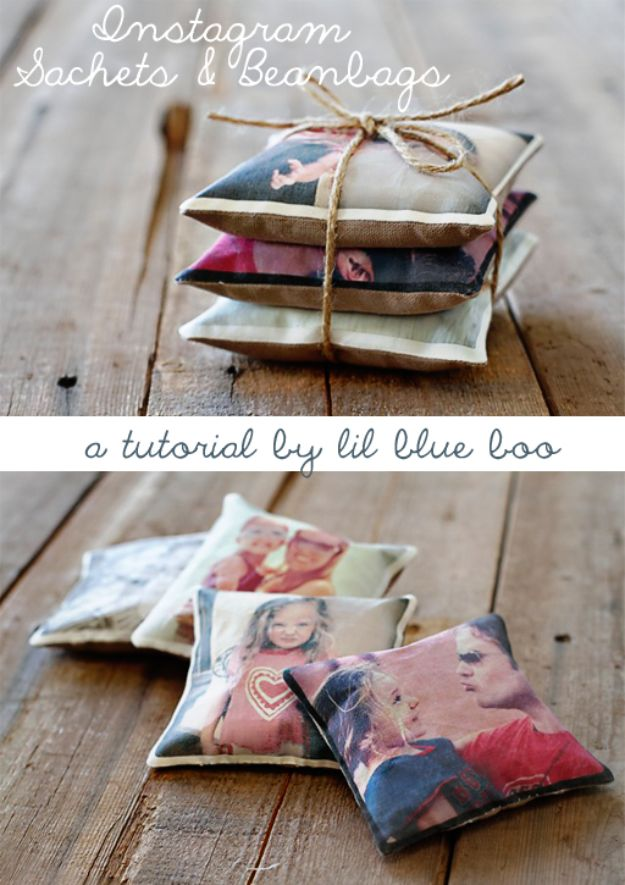 Best Mothers Day Ideas - Instagram Sachets And Beanbags - Easy and Cute DIY Projects to Make for Mom - Cool Gifts and Homemade Cards, Gift in A Jar Ideas - Cheap Things You Can Make for Your Mother http://diyjoy.com/diy-mothers-day-ideas