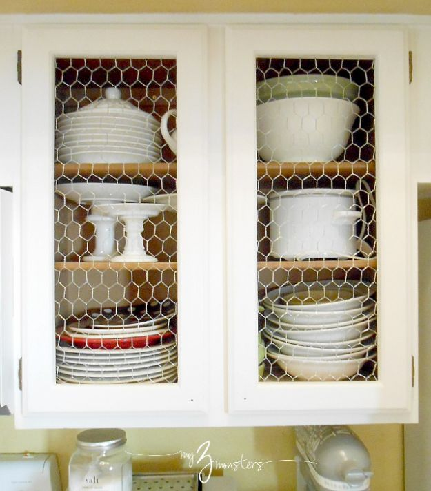 DIY Kitchen Cabinet Ideas - Kitchen Cabinet Facelift - Makeover and Before and After - How To Build, Plan and Renovate Your Kitchen Cabinets - Painted, Cheap Refact, Free Plans, Rustic Decor, Farmhouse and Vintage Looks, Modern Design and Inexpensive Budget Friendly Projects