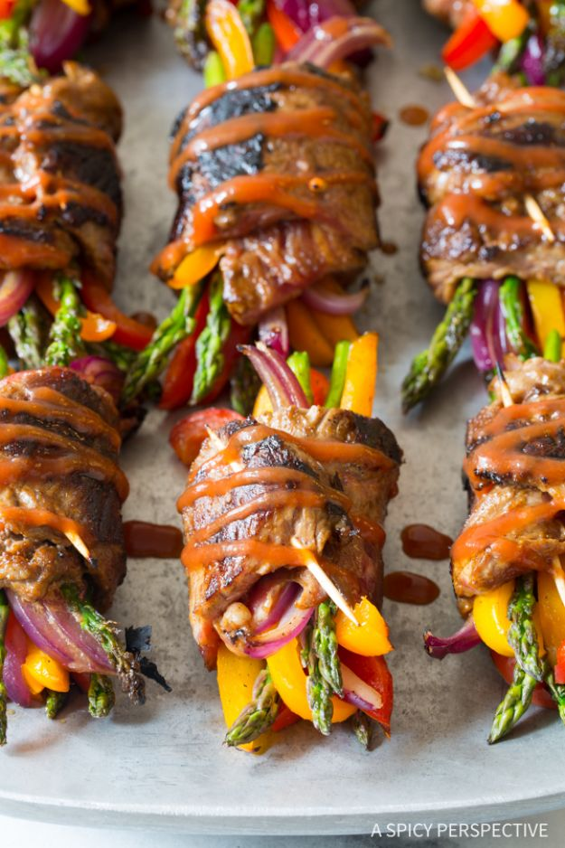 Best Lowfat Recipes - Low Carb Steak Fajita Roll-Ups - Easy Low fat and Healthy Recipe Ideas For Eating Well and Dieting, Weight Loss - Quick Breakfasts, Lunch, Dinner, Snack and Desserts - Foods with Chicken, Vegetables, Salad, Low Carb, Beef, Egg, Gluten Free http://diyjoy.com/best-lowfat-recipes