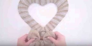 She Makes Several Elegant And Neutral Valentine's Decor Items That Are So Easy. Watch!