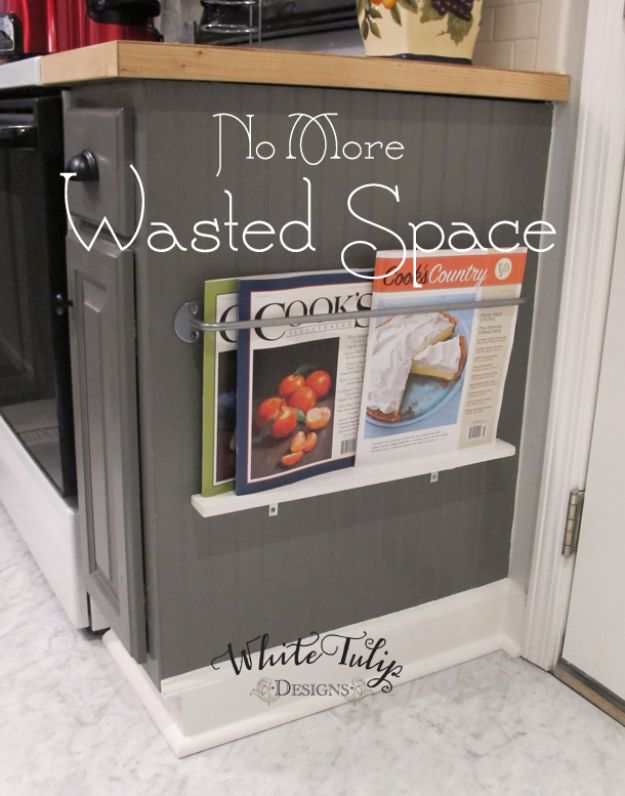 DIY Kitchen Cabinet Ideas - No More Wasted Space - Makeover and Before and After - How To Build, Plan and Renovate Your Kitchen Cabinets - Painted, Cheap Refact, Free Plans, Rustic Decor, Farmhouse and Vintage Looks, Modern Design and Inexpensive Budget Friendly Projects