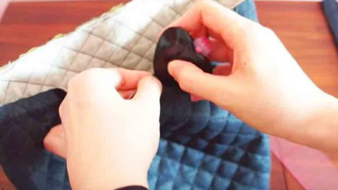 She Uses Quilted Fabric To Make This Stylish Item That Every Woman Should Have. Watch! | DIY Joy Projects and Crafts Ideas