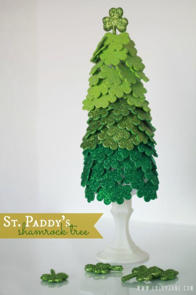 St. Patrick's Day Shamrock Tree