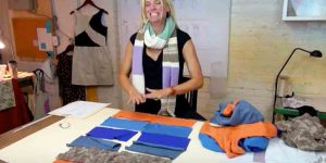 Watch The Clever Way She Repurposes Old Sweaters!