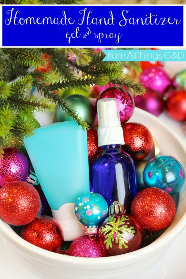 DIY Essential Oil Recipes and Ideas - Thieves Homemade Hand Sanitizer - Cool Recipes, Crafts and Home Decor to Make With Essential Oil - Diffuser Projects, Roll On Prodicts for Skin - Recipe Tutorials for Cleaning, Colds, For Sleep, For Hair, For Paint, For Weight Loss #crafts #diy #essentialoils