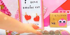 She Makes Great Gifts That Are Easy, Cute And Cheap For Loved Ones On Valentine's Day!