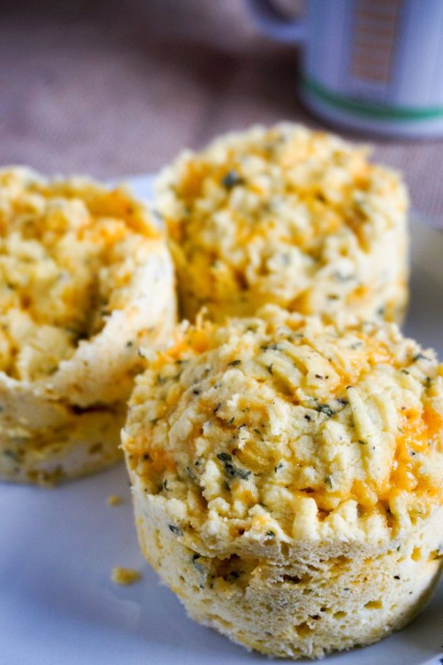Best Keto Recipes - 3 Minute Low Carb Biscuits - Easy Ketogenic Recipe Ideas for Breakfast, Lunch, Dinner, Snack and Dessert - Quick Crockpot Meals, Fat Bombs, Gluten Free and Low Carb Foods To Make For The Keto Diet #keto #ketorecipes #ketodiet