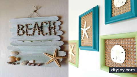 37 Best DIY Beach House Decor Ideas | DIY Joy Projects and Crafts Ideas