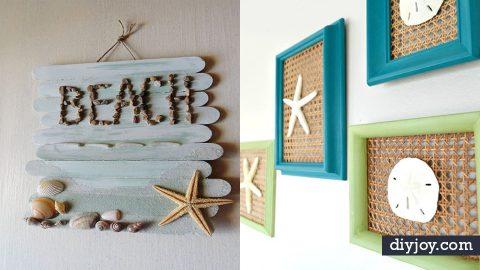 37 Best DIY Beach House Ideas for Coastal Decor | DIY Joy Projects and Crafts Ideas