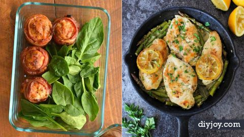 40 Best Keto Diet Recipes – Easy Low Carb Ketogenic Recipe Ideas | DIY Joy Projects and Crafts Ideas