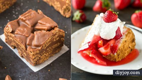 42 Gluten Free Desserts Recipes to Try | DIY Joy Projects and Crafts Ideas