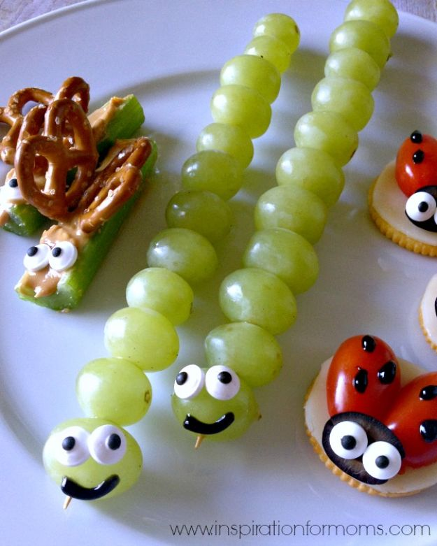 Best Recipes To Teach Your Kids To Cook - Back Yard Bug Snacks - Easy Ideas To Show Children How to Prepare Food - Kid Friendly Recipes That Boys and Girls Can Make Themselves - No Bake, 5 Minute Foods, Healthy Snacks, Salads, Dips, Roll Ups, Vegetables and Simple Desserts - Recipes To Learn How To Make Fun Food http://diyjoy.com/best-recipes-teach-kids-to-cook