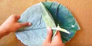 This Beautiful Leaf Craft Is So Easy To Do, Make Great Gifts And Serve Many Purposes!