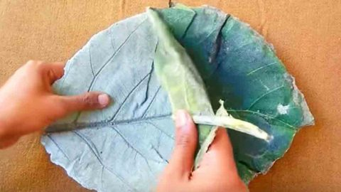 This Beautiful Leaf Craft Is So Easy To Do Make Great Gifts And