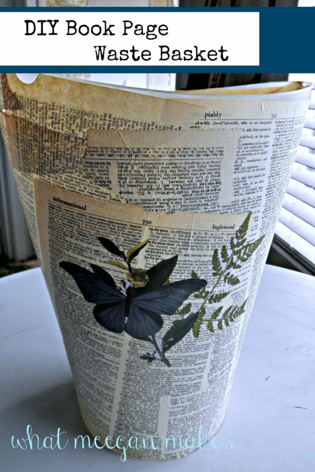 32 Impressive Diy Trash Cans